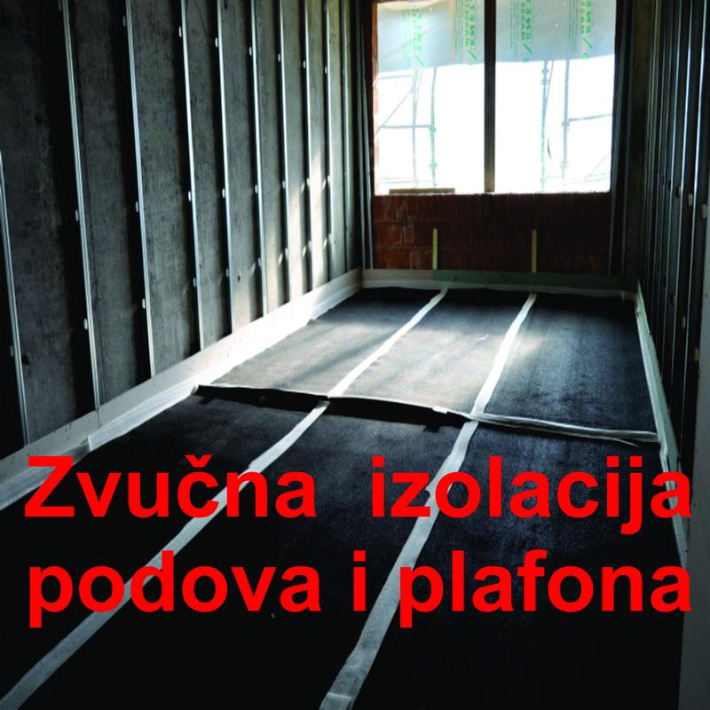 zvucna izolacija podova